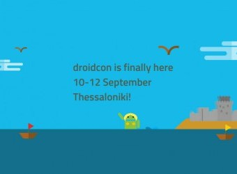 droidcon is finally here 10-12 September Thessalon