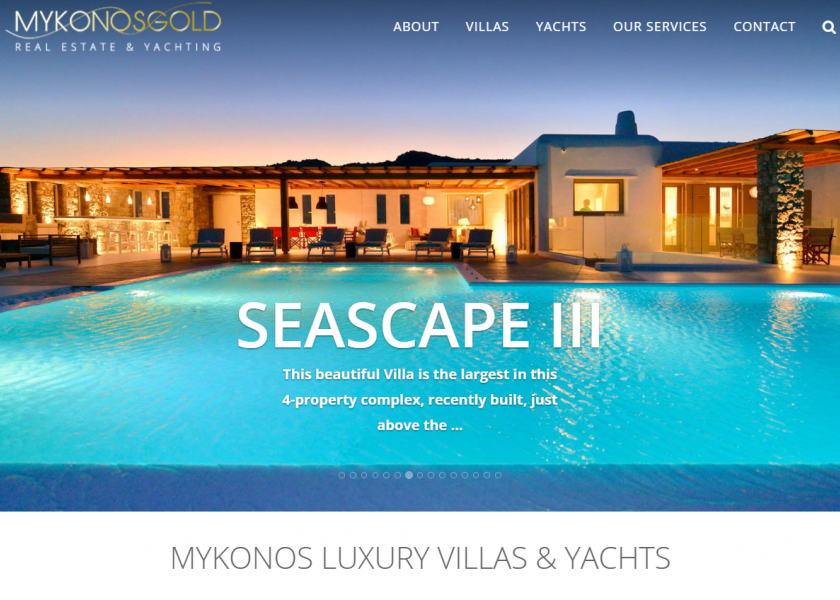 Mykonos Villas - Luxury Villa Rentals & Yacht Char